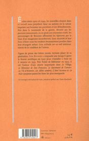 Les Pommes Antonov - 4ème de couverture - Format classique