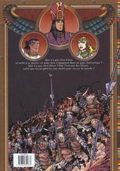 Khatedra t.1 ; le voyage - 4ème de couverture - Format classique