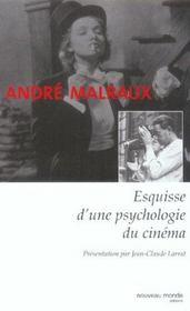 Esquisse d'une psychologie du cinéma - Intérieur - Format classique