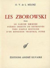 Les Zborowski - Couverture - Format classique