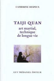 Taiji Quan Art Martial Technique De Longue Vie - Intérieur - Format classique