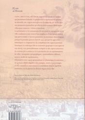 La ville figuree ; plans et vues gravées de Marseille, Gênes et Barcelone - 4ème de couverture - Format classique