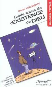 Guide Totus - De L'Existence De Dieu - Couverture - Format classique