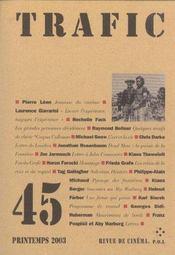 Trafic 45 - Intérieur - Format classique