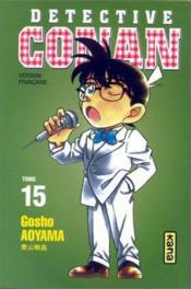 Detective Conan T15 - Couverture - Format classique