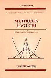 Methodes taguchi - Couverture - Format classique