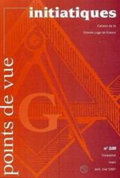 Points De Vue Initiatiques N°105 - Couverture - Format classique