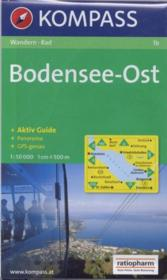 Bodensee-Ost ; aktiv guide ; panorama ; GPS geneau - Couverture - Format classique