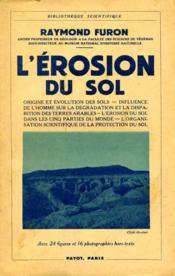 L'érosion du sol - Couverture - Format classique