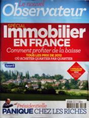 Nouvel Observateur (Le) N°2470 du 08/03/2012 - Couverture - Format classique