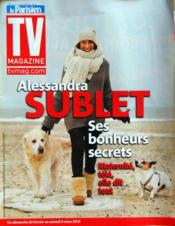 Tv Magazine Le Parisien N°20991 du 24/02/2012 - Couverture - Format classique