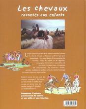 Chevaux Racontes Aux Enfants - 4ème de couverture - Format classique
