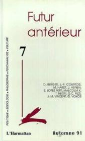 Futur Anterieur T.7 ; Futur Antérieur T.7 - Couverture - Format classique