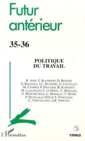 Politique Du Travail - Couverture - Format classique