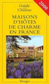 Guide de charme des maisons d'hotes en france - Intérieur - Format classique