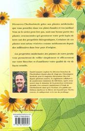 Les Proprietes Medicinales Des Plantes De Votre Jardin - 4ème de couverture - Format classique