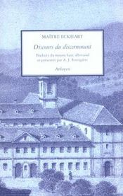 Discours Du Discernement (Les) - Intérieur - Format classique