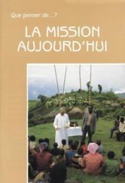 La Mission Aujourd'Hui - Couverture - Format classique