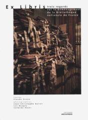 Ex libris, trois regards sur le déménagement - Couverture - Format classique