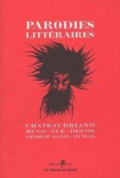 Parodies littéraires - Couverture - Format classique