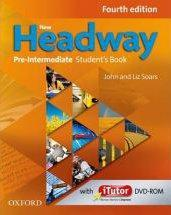 New headway, 4th edition pre-intermediate: student's book pack and itutor dvd-rom - Couverture - Format classique