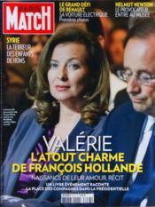 Paris Match N°3277 du 08/03/2012 - Couverture - Format classique