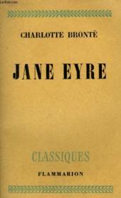 Jane Eyre. - Couverture - Format classique