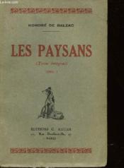 Les Paysans - Tome 1 - Scenes De La Vie De Campagne - Couverture - Format classique