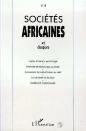 Societes Africaines 5 Et Diaspora - Couverture - Format classique