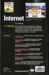 Pc poche internet - 4ème de couverture - Format classique