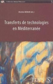 Transferts de technologies en Méditerranée - Couverture - Format classique