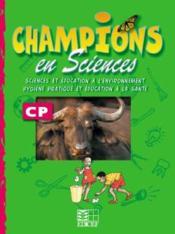 Champions En Sciences Cp / Livret D'Activites (Cameroun) - Couverture - Format classique