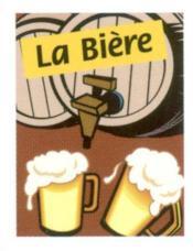 La biere mini-livre - Couverture - Format classique