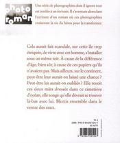 Naufragée - 4ème de couverture - Format classique