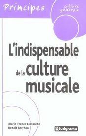 L'indispensable de la culture musicale - Intérieur - Format classique