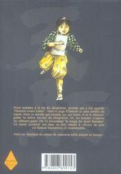 Tengu t.2 - 4ème de couverture - Format classique
