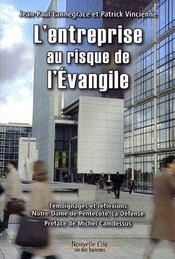 L'entreprise au risque de l'évangile - Intérieur - Format classique