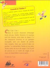 Toufou, Maitre Tonnerre - 4ème de couverture - Format classique