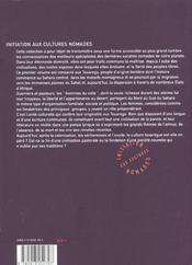 Les touaregs - 4ème de couverture - Format classique
