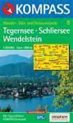 Tegernsee/schliersee/wendelstein ; 1/50.000 ; n.8 - Couverture - Format classique