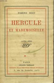 Hercule Et Mademoiselle. - Couverture - Format classique