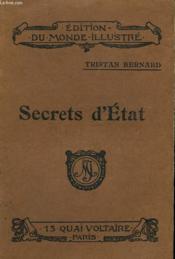 Secrets D'Etat - Couverture - Format classique