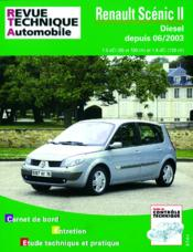 Rta 679.3 Renault Scenic Ii Diesel - Couverture - Format classique