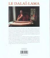 Dalai Lama, Du Tibet A L'Exil - 4ème de couverture - Format classique