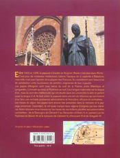 Sur les pas des papes d'Avignon - 4ème de couverture - Format classique