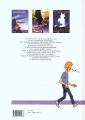 Broussaille t.3 ; la nuit du chat - 4ème de couverture - Format classique