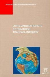 Lutte antiterroriste et relations transatlantiques - Intérieur - Format classique