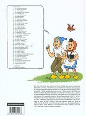 Sylvain et Sylvette t.4 ; le banquet des compères - 4ème de couverture - Format classique
