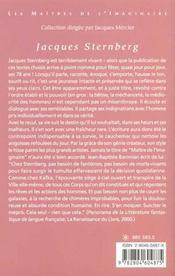 Oeuvres Choisies ; Fin De Siecle ; Un Jour Ouvrable ; La Banlieue ; Le Delit - 4ème de couverture - Format classique