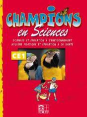 Champions En Sciences Ce1 (Cameroun/Panaf) - Couverture - Format classique